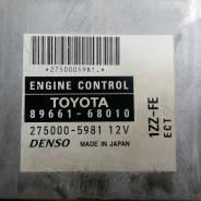 Блок управления двс. Toyota Wish, ZNE10 Двигатель 1ZZFE