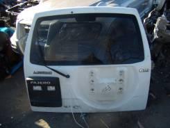 Дверь багажника. Mitsubishi Pajero, V63W, V73W, V65W, V75W, V78W, V68W
