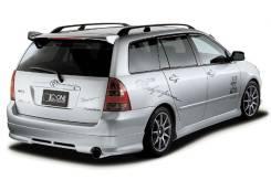 Накладка на спойлер. Toyota Corolla Fielder