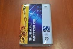 Subaru. Вязкость 5W30, гидрокрекинговое