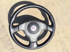 Руль STI на Subaru Impreza WRX STI 2003г + подушка airbag
