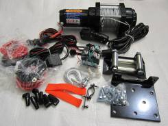 Лебёдка электрическая Kimpex 2500 со стальным тросом + Дист. управление