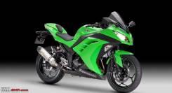 Kawasaki Ninja 300. 296 куб. см., исправен, птс, без пробега. Под заказ