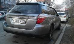 Накладка на дверь багажника. Subaru Outback, BP9, BPE Subaru Legacy, BP9, BP5, BPE. Под заказ из Новосибирска