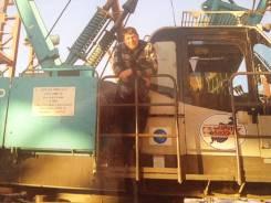Машинист башенного крана. Средне-специальное образование, опыт работы 28 лет