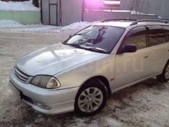 Накладка на бампер. Toyota Caldina
