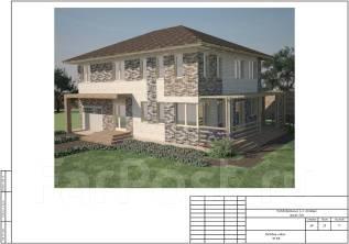 Проект дома Анастасия. 100-200 кв. м., 2 этажа, 4 комнаты