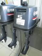 Yamaha. 5,00л.с., 2х тактный, бензин, нога S (381 мм), Год: 2015 год