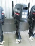 Yamaha. 25,00л.с., 2х тактный, бензин, нога S (381 мм), Год: 2015 год