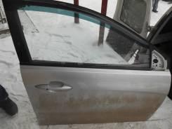 Дверь R перед.  Kia Rio 3 хэтчбэк б/у в сборе серебро