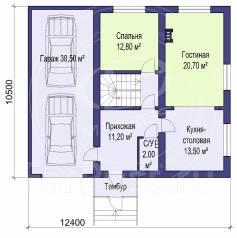 M-fresh General mini. 200-300 кв. м., 1 этаж, 5 комнат, бетон
