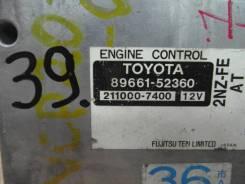 Блок управления двс. Toyota Funcargo, NCP20 Toyota WiLL Vi, NCP19 Двигатель 2NZFE