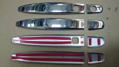 Накладка на ручки дверей. Toyota: Voxy, Noah, Allion, Premio, Land Cruiser Prado, Harrier