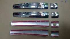 Накладка на ручки дверей. Toyota Land Cruiser Prado, GDJ151W, GRJ150L, GRJ150W, GDJ150W, TRJ150W