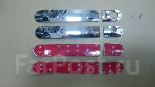 Накладка на ручки дверей. Nissan: March, Note, Tiida, Wingroad, AD, Cube