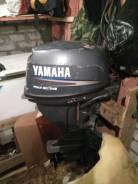 Yamaha. 15,00л.с., 4х тактный, бензин, нога S (381 мм), Год: 2006 год