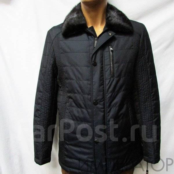 1a0cc950b4c Император. Куртка зима Yierman 7274 синяя норка. 58