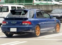 Спойлер. Subaru Impreza WRX, GF8