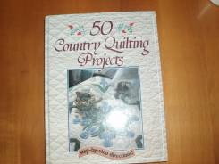 """Книга """"50 Country Quilting Projects"""""""