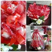 Сердце из конфет рафаэлло 8 марта 14 февраля