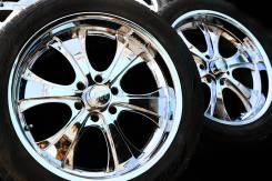 Лот K1982 крутой 22-й комплект колес в хроме для джипа!. 9.5x22 6x139.70 ET15