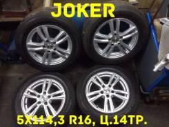 Weds Joker. 6.5x16, 5x114.30, ET40