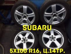 Subaru. 6.5x16, 5x100.00, ET52