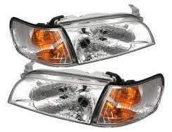 Комплект Фары + габариты Toyota Corolla E100 Хрусталь