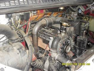 Двигатель в сборе. ЗИЛ 131