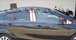 Накладка на стойку. Toyota Aqua