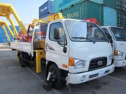 Hyundai HD72. Новый кран манипулятор с завода из Ю. Кореи ! Механический ТНВД, 3 907куб. см., 4 200кг., 4x2. Под заказ