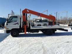 Hyundai HD78. В наличии, абсолютно новый эвакуатор + КМУ с завода Ю. Кореи, 3 900куб. см., 4 700кг., 4x2. Под заказ