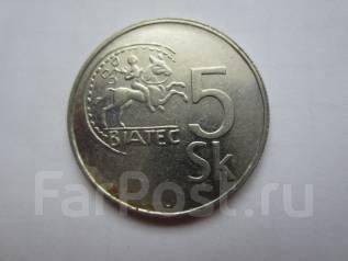 Словакия 5 крон 1995 года.