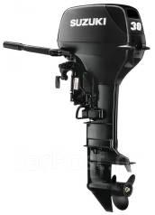 Suzuki. 30,00л.с., 2х тактный, бензин, нога S (381 мм)