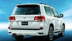 Насадка на глушитель. Toyota Land Cruiser, UZJ200W, VDJ200, URJ202W, URJ202, UZJ200 Toyota Land Cruiser Prado Двигатели: 1VDFTV, 1URFE, 2UZFE