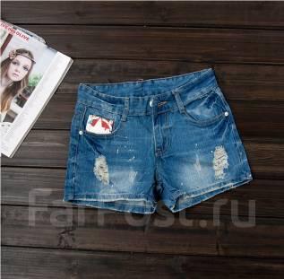 Шорты джинсовые. 44, 46, 54