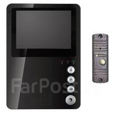 Комплект видеодомофон домофон и вызывная панель ПО Супер ЦЕНЕ