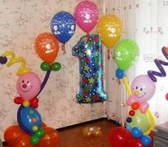 Детский праздник, оформление воздушными шарами!. Под заказ