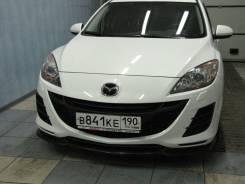 Накладка на бампер. Mazda Mazda3, BL Двигатели: MZRCDR2AA, Y655Y650, MZRDISILF5H, MZRLF17, MZCDY601, LFDE, MZRZ6, MZRCDBLA2Y, MZRDISILF17, MZRL5VE