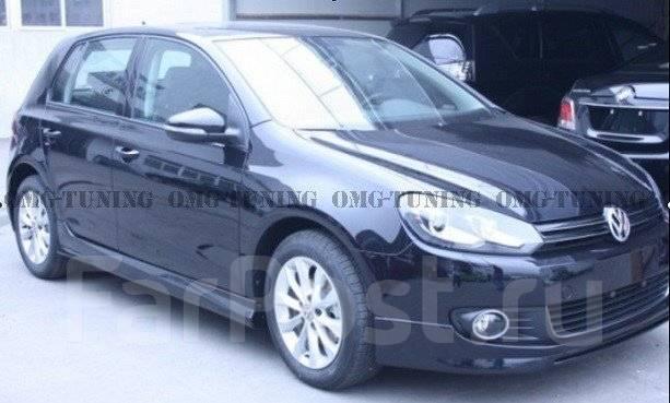 Обвес кузова аэродинамический. Volkswagen Golf, 5K1