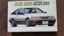 Сборная модель Toyota Corolla AE86 1600 GT APEX