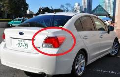 Стоп-сигнал. Subaru Impreza, GJ7, GJ, GJ6, GJ3, GJ2 Subaru Impreza (GJ), FB Двигатели: EJ20A, FB16, FB20, EJ16A. Под заказ из Владивостока