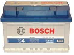 Bosch. 72 А.ч., правое крепление