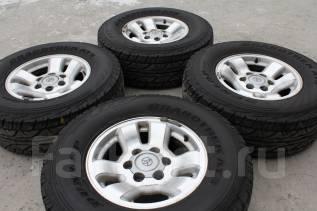 265/70 R 16 Dunlop Grandtrek AT3 литые диски 6х139.7 R16 Toyota. 7.0x16 6x139.70 ET15
