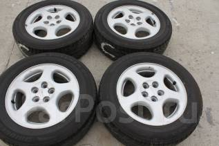 205/60 R 15 Bridgestone Potenza Glll литые диски 5х100 R15. 6.0x15 5x100.00 ET55