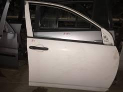 Дверь передняя правая Toyota corolla nze121 белый цвет