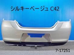 Бампер. Nissan Tiida, C11, JC11