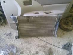 Радиатор охлаждения двигателя. Opel Vectra