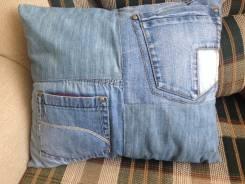 Подушки из джинсы (Hand Made) ручная работа