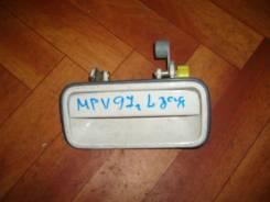 Ручка двери внешняя. Mazda MPV, LVLR Двигатель WLT